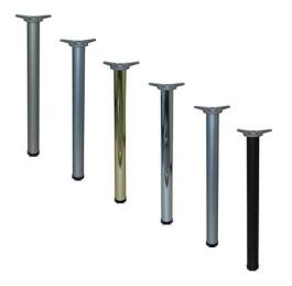 stolová noha SATIN NIKL/710mm