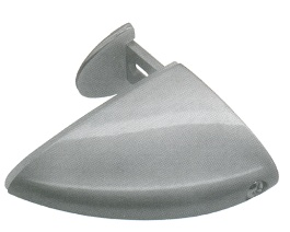 Tukan střední 75mm RAL9006