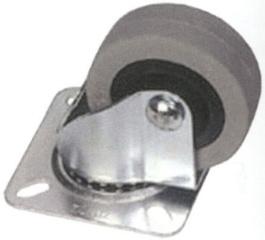 kolečko otočné-gumové pr.50mm