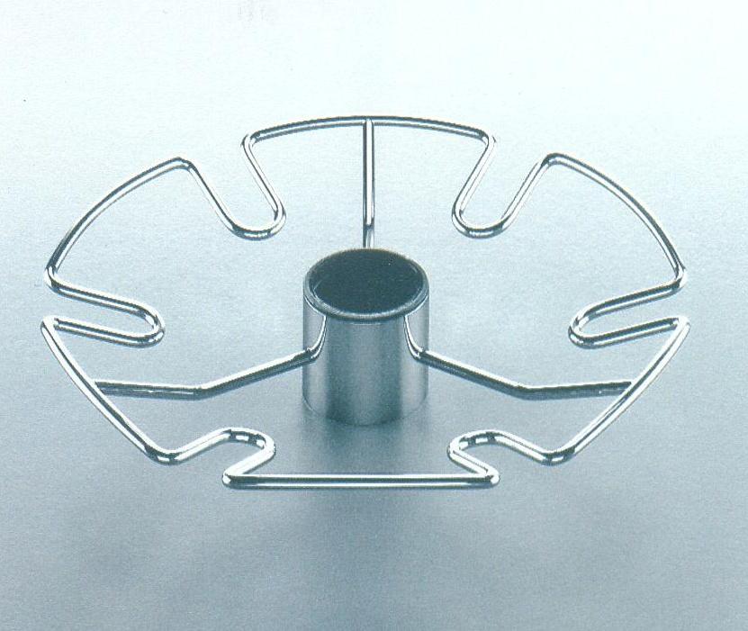 Držák sklenic , průměr 300 mm| chrom
