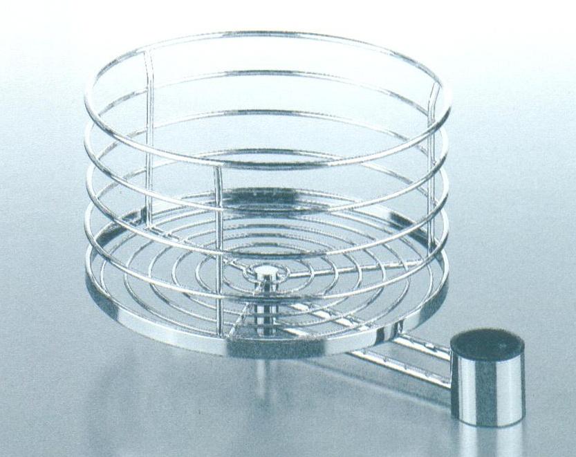 Otočný koš,průměr 315 mm| chrom
